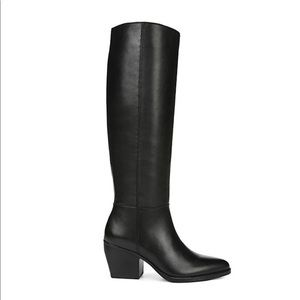 Naturalizer   Leather Tall Heeled Fae Boots